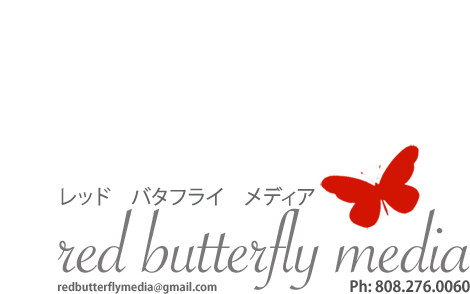 Red Butterfly Media - Graphic Design and Printing in Maui Hawaii
